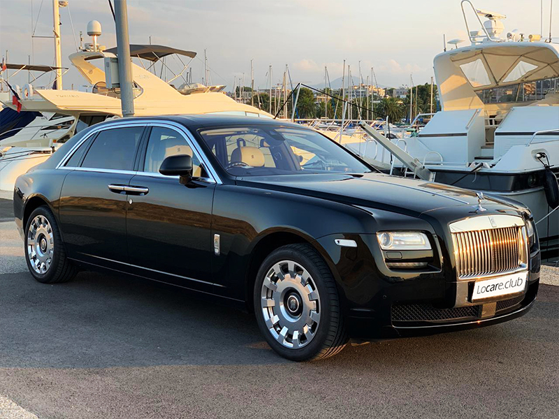 Rolls Royce - Ghost Long Rent car Cannes, Nice, Monaco Аренда авто Канны, Ницца, Монако