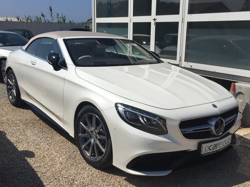 Mercedes-Benz - S63 Cabrio Rent car Cannes, Nice, Monaco Аренда авто Канны, Ницца, Монако