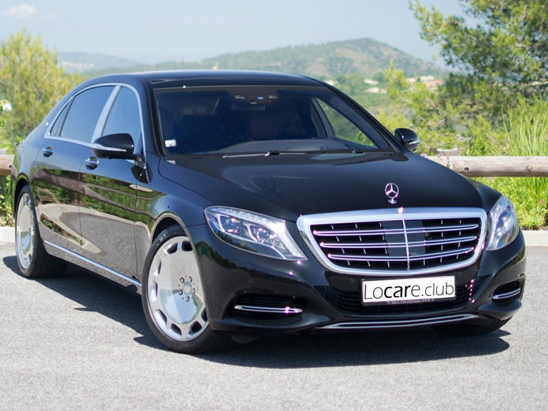 Maybach - S500 Rent car Cannes, Nice, Monaco Аренда авто Канны, Ницца, Монако
