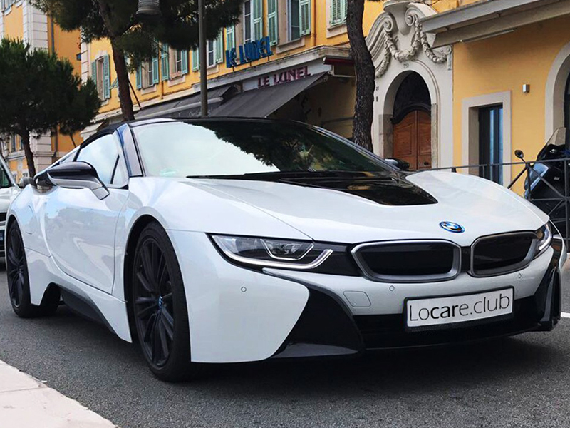 BMW - i8 Rent car Cannes, Nice, Monaco Аренда авто Канны, Ницца, Монако