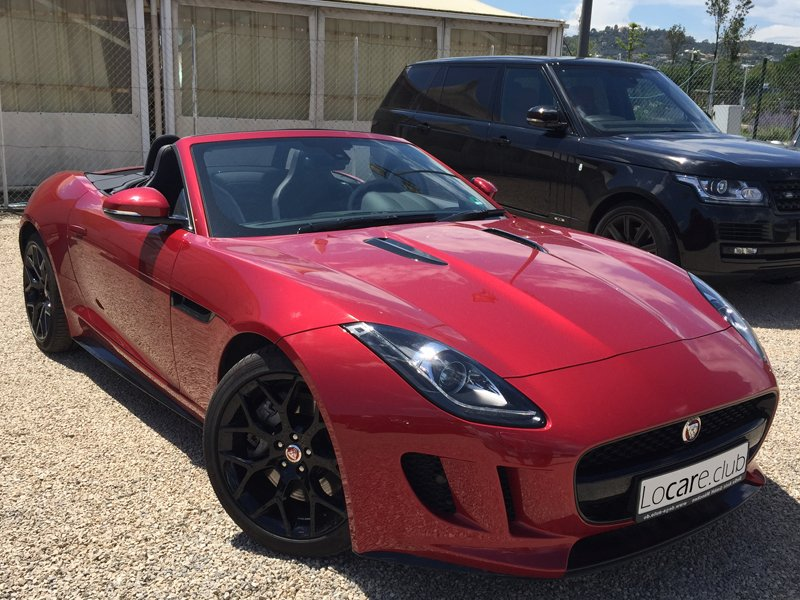 Jaguar - F-Type Rent car Cannes, Nice, Monaco Аренда авто Канны, Ницца, Монако