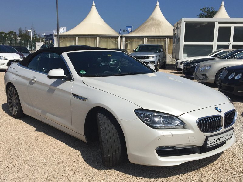 BMW - 6 Cabrio Rent car Cannes, Nice, Monaco Аренда авто Канны, Ницца, Монако