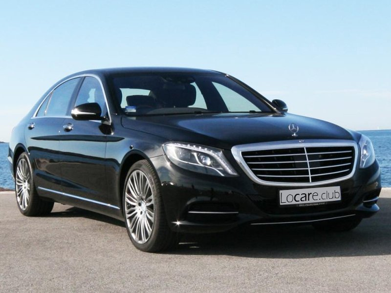Mercedes-Benz - S Class Long Rent car Cannes, Nice, Monaco Аренда авто Канны, Ницца, Монако