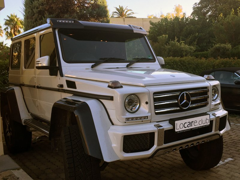 Mercedes-Benz - G500 4x4 Rent car Cannes, Nice, Monaco Аренда авто Канны, Ницца, Монако