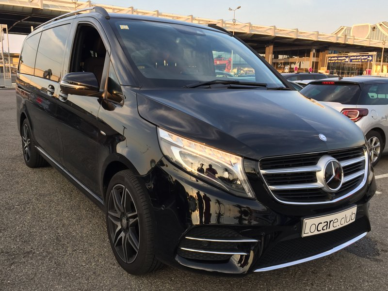 Mercedes-Benz - V-Class 4x4 Rent car Cannes, Nice, Monaco Аренда авто Канны, Ницца, Монако