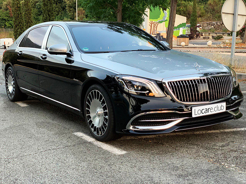 Maybach S560 DuoColour Locare Club Rent car Cannes, Nice, Monaco Аренда авто Канны, Ницца, Монако