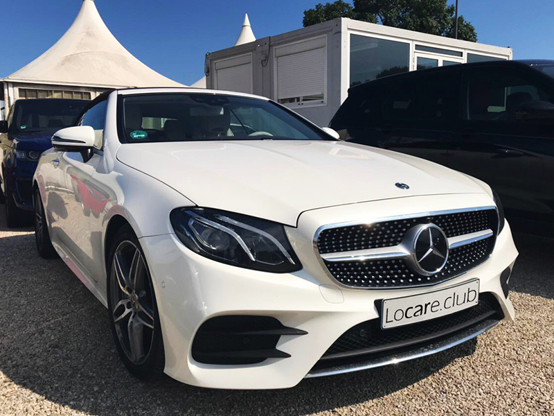 Mercedes E300 Cabrio Locare Club Rent car Cannes, Nice, Monaco Аренда авто Канны, Ницца, Монако